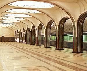 Moscou Metro Mayakovskaya